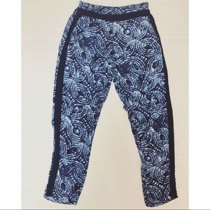 Anthropologie Hei Hei Printed Relaxed Jogger Pants